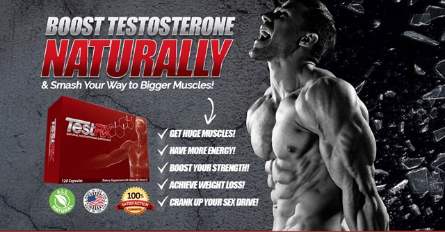 TestRX™ Review - The Natural Low Testosterone Supplement For Guys