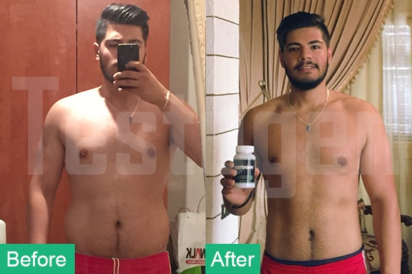 Testogen Customer Reviews - Before and After