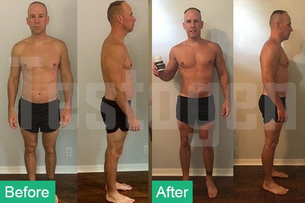 Testogen Avis des clients - avant et après